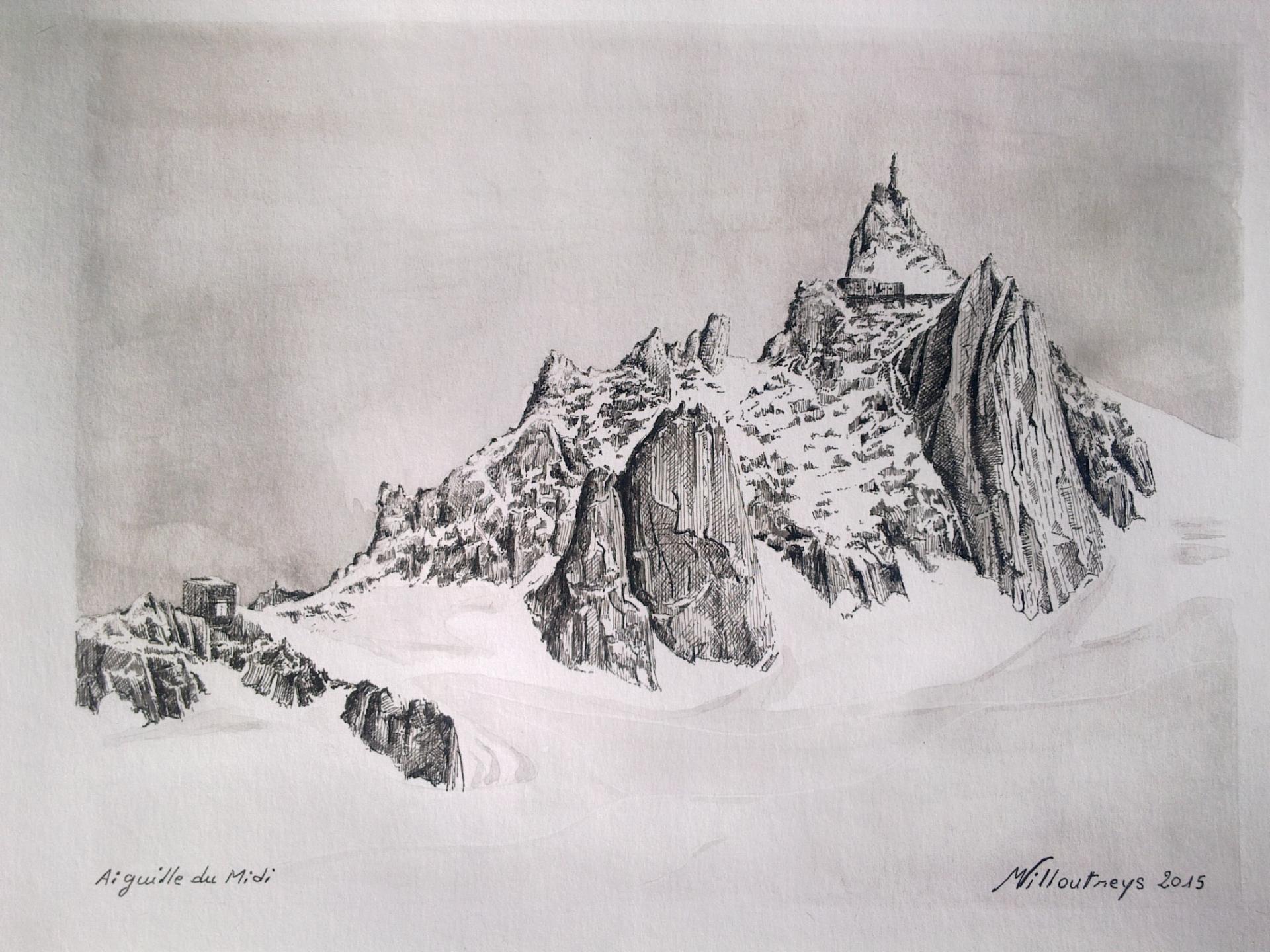 Aiguille du Midi (Massif du Mont-Blanc)