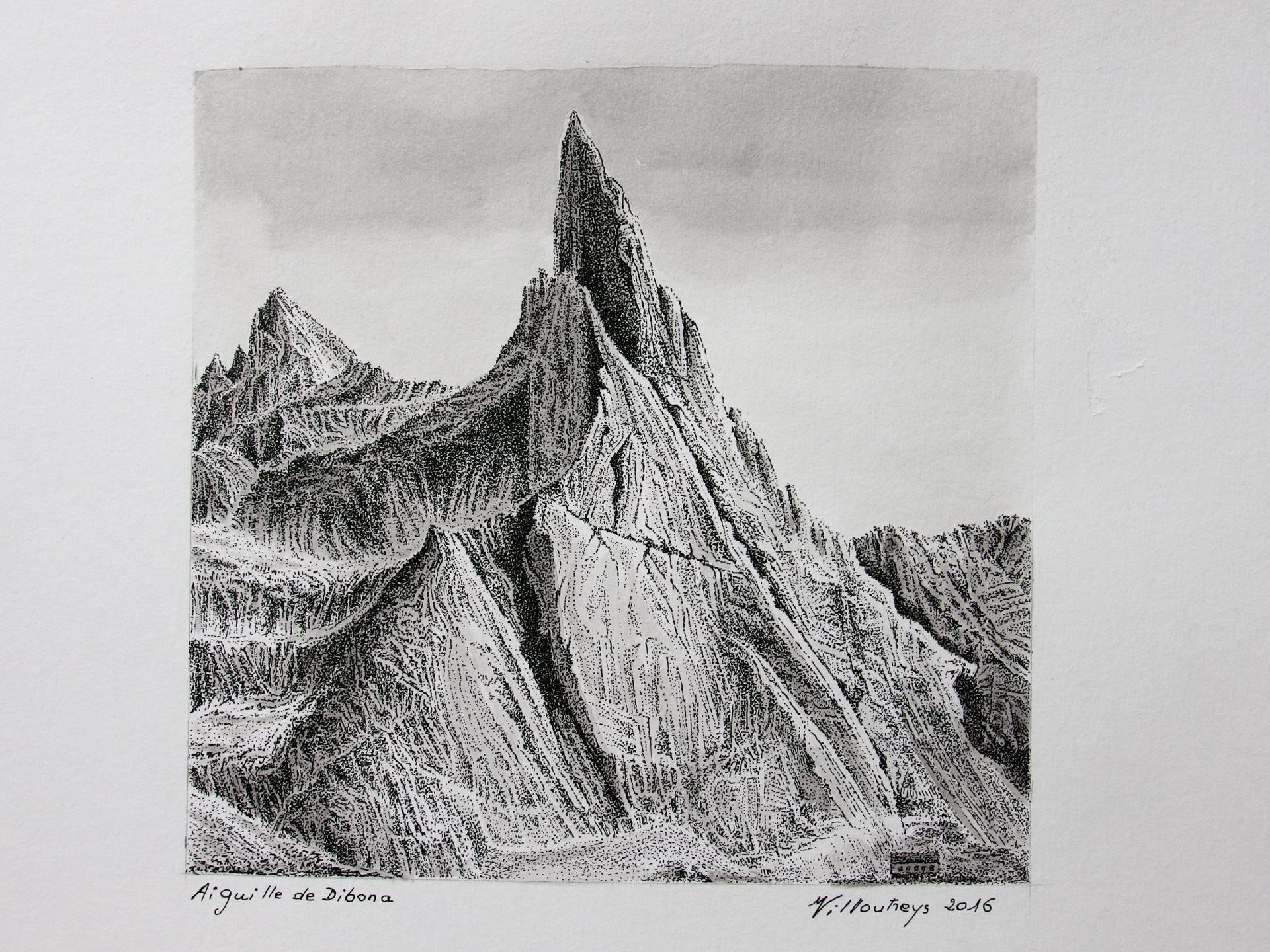Aiguille de Dibona (Massif de l'Oisans)