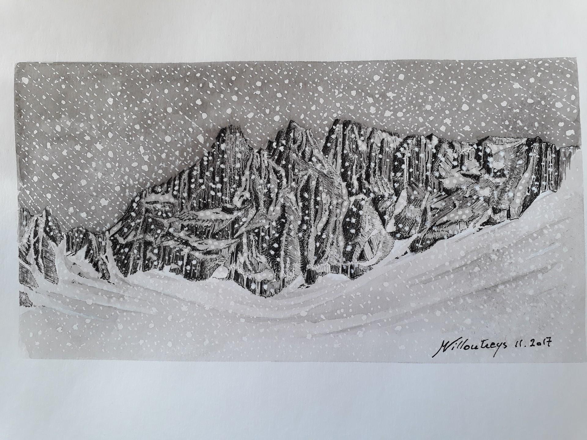 Pics de Belledonne (Isère)